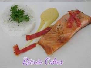 saumon mariné au sirop d'érable