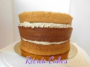 détail gâteau ferrero