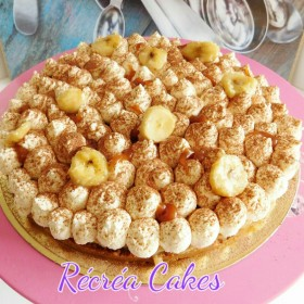 Banoffee, bananes rôties au yuzu, caramel aux épices et chantilly mascarpone