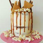 Layer Cake au pommes et caramel