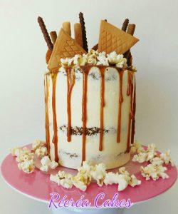 Layer Cake aux pommes et caramel