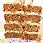 l'intérieur du gâteau