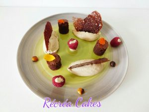 Mousse aux cèpes et brownie
